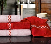 Towel Royal red