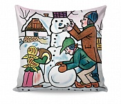 Pillowcase Snowman
