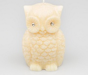 Candle Owl apricot