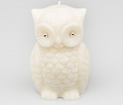 Candle Owl white