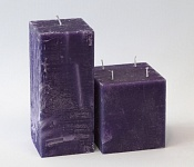 Dark Purple Candle