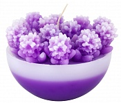 Candle Floret violet (2nd quality)