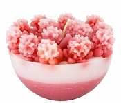 Candle Floret pink (2nd quality)