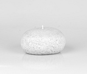 Candle Pebble light grey