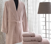 Bathrobe Paloma Pink