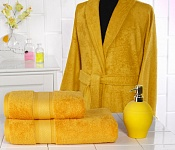 Bathrobe Wellness Yellow-Orange